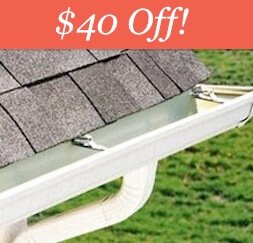 Eavestrough Cleaning Deal - $40 off