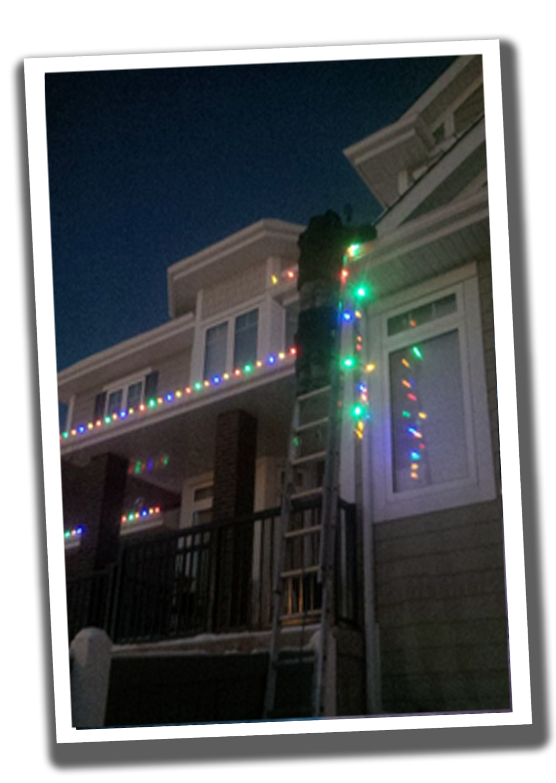 Christmas Lights Installation Edmonton Heights Residential